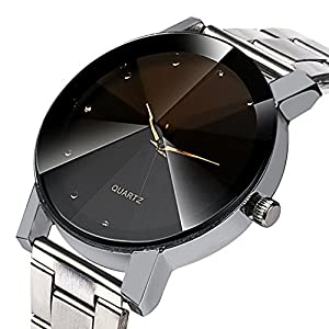 Anastasia Men's Fashion Analog Quartz Wrist Watch with Stainless Steel Strap Christmas Gifts Sport Business Watches for Man