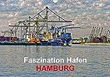 Faszination Hafen - Hamburg (Wandkalender 2020 DIN A3 quer): Szenen aus dem Hamburger Hafen in expressionistischen Ansichten (Monatskalender, 14 Seiten ) (CALVENDO Orte)