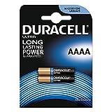 Duracell Specialty, Pilas alcalinas AAAA, Pack 2 baterías