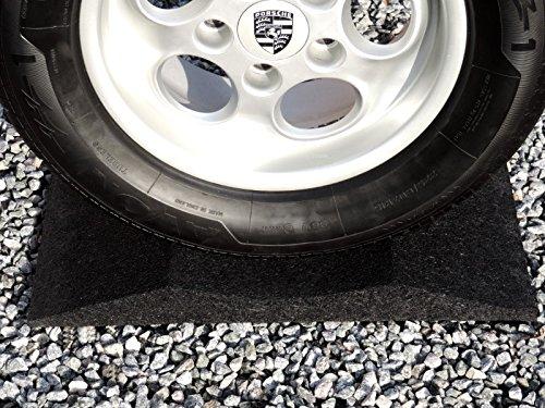 Reifenschuh 400mm breit f. Reifen bis 385er Satz a 4 Stk. schwarz Gummi