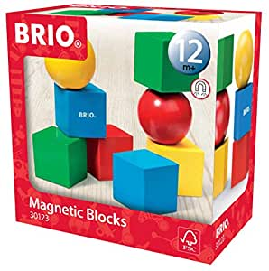 Brio 30123000 - Magnetische Bausteine