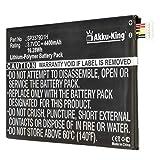 Akku-King Akku ersetzt Samsung SP3379D1H - Li-Polymer 4400mAh - für Samsung Galaxy Tab 3, Galaxy Tab 3 8.0, SM-T310, SM-T310, SM-T311, SM-T311