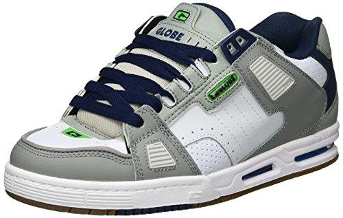 Globe  Sabre, Chaussures de skateboard homme Mehrfarbig (Grey/Blue/Green)