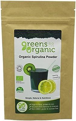 Greens Organic 100 g Spirulina Powder by Greens Organic