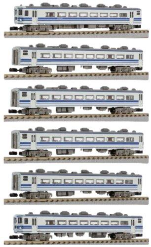 Rokuhan 97717 - JNR Serie 14K Personenwagen, 6-Wagen-Europa-Set