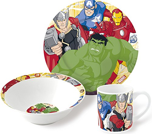 Estuche regalo de ceramica de Avengers