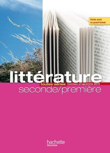 L'écume des lettres - Littérature 2de / 1re - Livre élève format compact - Edition 2011 par P. Bruley