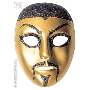 WIDMANN Máscara de chino con púrpurina adulto Cualquier día
