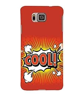 Fuson Designer Back Case Cover for Samsung Galaxy Alpha :: Samsung Galaxy Alpha S801 :: Samsung Galaxy Alpha G850F G850T G850M G850Fq G850Y G850A G850W G8508S :: Samsung Galaxy Alfa (Cool free Happy Calm Silent)