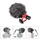 Tutmonda Micrófono de Condensador Grabación micrófono Video Compacto Universal para cámara réflex Digital DC838