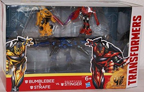 ransformers Bumblebee und Stinger Battle (Neu Transformers Bumblebee)