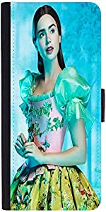 Snoogg Shy Chicdesigner Protective Flip Case Cover For Apple Iphone 5/5S