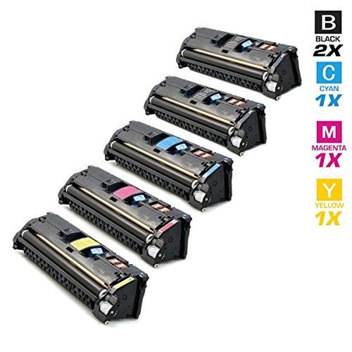 5ad alte prestazioni Toner con 40% più Prestazioni di stampa dopo (ISO–standard 19798) sostituire Q3960A, Q3961A, Q3962A, Q3963A per HP Color Laserjet 2550N 2550L 2500N 2550L 2550LN 2820AIO 2840AIO, Canon i-SENSYS MF8180C Canon MF 8180C Canon LBP5200Canon LBP2410