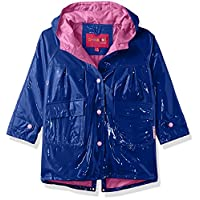 Wippette Solid Color Girls Raincoat