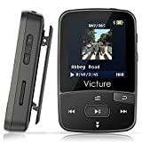 Victure Bluetooth MP3 Player 8GB Mini Sport Musik Player mit Clip, 30 Stunden Wiedergabe Musikplayer mit FM Radio, Unterstützt bis 64 GB SD Karte