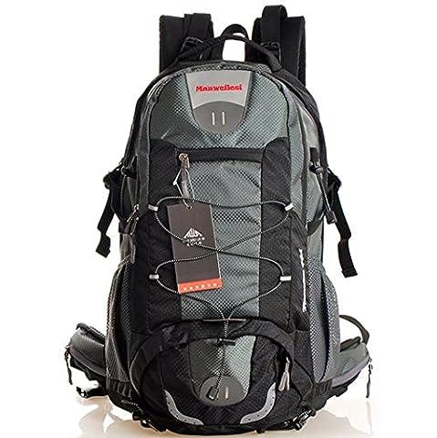 C.CHUANG Waterproof Backpack Camping Bag Hiking Bag Open Equipment Shoulder Bag(C4)