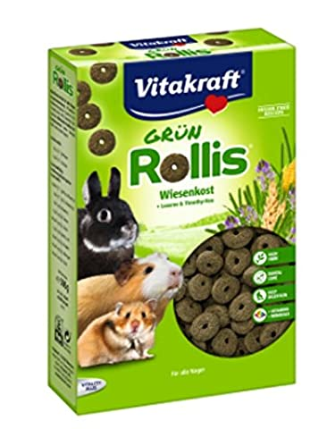 Vitakraft Small Animal Green Rolls 300gm, Case of 8