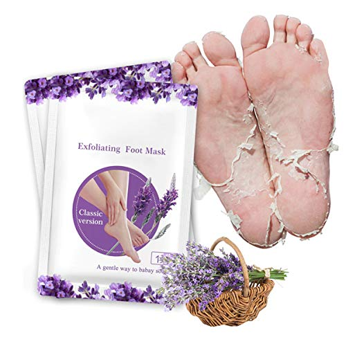 takestop® Mask Socks Exfoliating Feet Lavender Peel Mask Remove Callus Dead Skin Smooth Feet