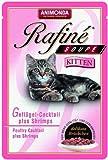 Megapack Animonda Rafiné Soupé Kitten Pute, Herz & Karotten 100g 20 X Einheit/Stück