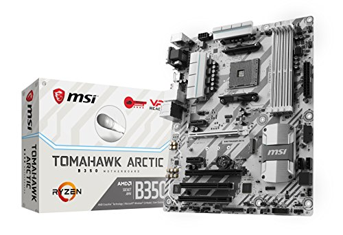 Foto MSI B350 TOMAHAWK ARCTIC Scheda Madre, AMD B350, Nero