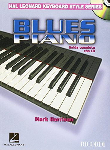 Blues Piano (Ital.)  Guida Completa con CD