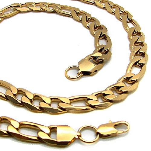 1-collar-figaro-cadena-plana-o-pulsera-de-acero-inoxidable-oe-10-mm-hombre-mujer-en-color-oro-22-70-