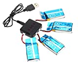 6-familymalltmdrone-piezas-4-pcs-37v-600mah-de-bateria-y-1pc-cargador-para-syma-actualiza-x5c-x5-qua