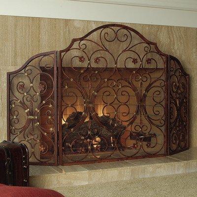 Provincial Triple Panel Kamin Bildschirm (Panel-kamin-bildschirm)