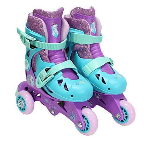 PlayWheels Disney Frozen 2in 1CONVERTIBLE Kinder Skate Junior Größe 6–9