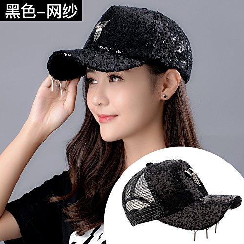 ZHANGYONG Le Soleil d'hat Baseball Cap Hat étudiante Fashion Paillettes extérieure Bien Hat Casquette