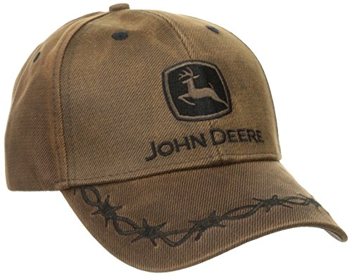 john-deere-oilskin-patch-colore-marrone