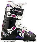 Nordica Velvet Ace (75)-Botas de esquí para mujer-negro/blanco (787)