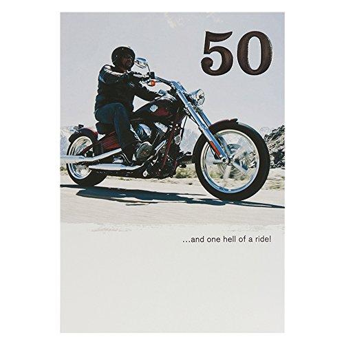 hallmark-harley-davidson-50-geburtstag-karte-one-hell-of-a-ride-medium