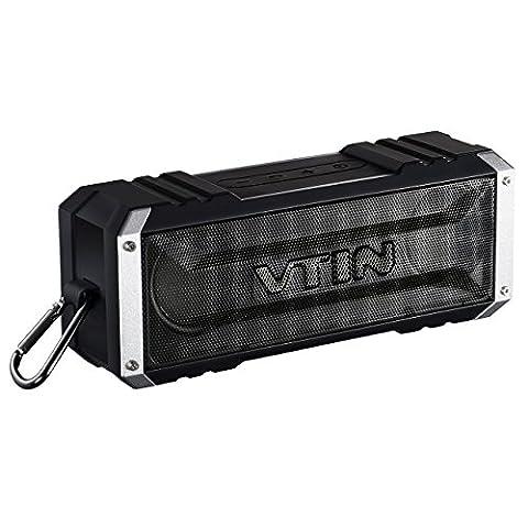 Enceinte Bluetooth, VTIN Punker Enceinte Portable Bluetooth Stéréo 20W Haut-parleur/