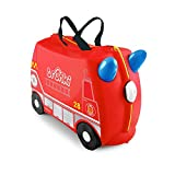 Trunki Children's Ride-On Suitcase: Frank Fire Engine (Red)