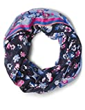CECIL Damen Schal 570849, Mehrfarbig (deep Blue 30128), One Size(Herstellergröße:A)