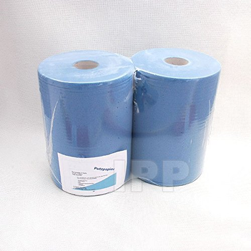 Preisvergleich Produktbild Putzpapier 3-lagig 22cm x 35cm 2 Rollen a 1000 Blatt (EUR 10,72 / Rolle)