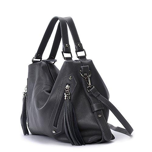 OH MY BAG Arizona, Borsa a spalla donna compact grigio scuro