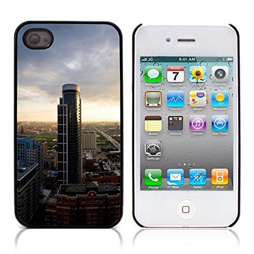 Graphic4You Monaco Postkarte Ansichtskarte Design Harte Hülle Case Tasche Schutzhülle für Apple iPhone 4 und 4S Design #11