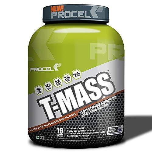PROCEL T-MASS Gainer Protein Powder - 4.5 kg (Chocolate Butterscotch)