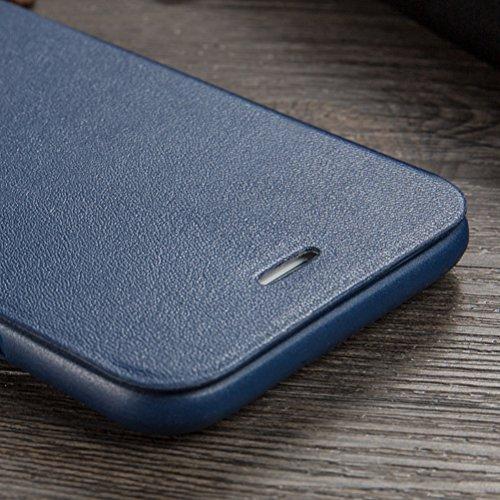MOONCASE IPhone 6 / 6S Hülle, Prämie PU Leder [Stoßdämpfende] TPU Innen Schale Tasche Schutzhülle Standfunktion Case Cover für iPhone 6 / 6S (4.7 inch) Baby-Rosa Saphir