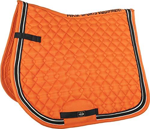 HKM Schabracke -Kontinent-, orange, Dressur