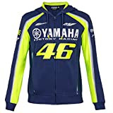 Sweat à capuche Yamaha Factory Racing, avec fermeture éclaire - Avec le numéro 46...