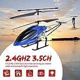 Dailyinshop 69136 68cm 2.4Ghz 3.5CH Legierung Anit-abgestürzt Großes RC Hubschrauber Drohnen UAV mit Gyroskop Licht Geschenk