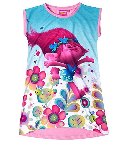 dreamworks-trolls-girls-nightie-nightdress-night-gown-100-cotton-new-2017-fushia-6y