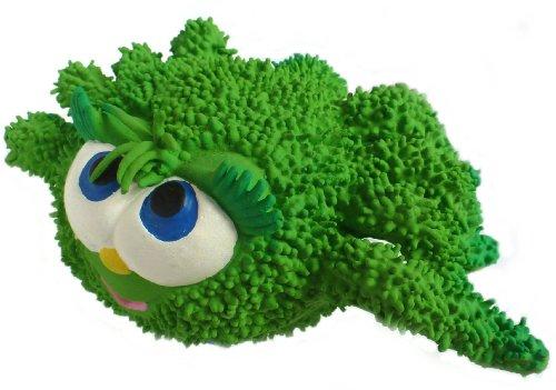 Naturkautschuk Kleinkindspielzeug Motorikspielzeug ALFIE die Spinne (Gruen)