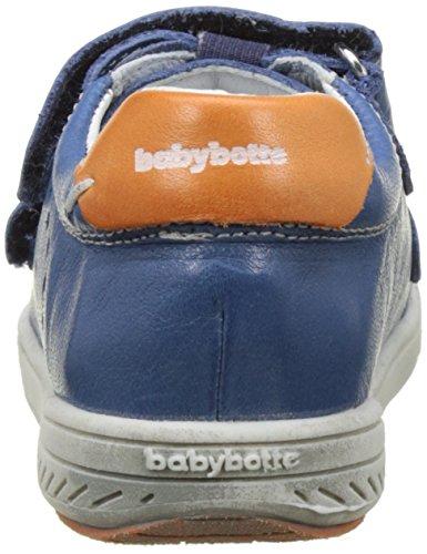 babybotte Jungen Ankiri Flach Bleu (Bleu/Orange)