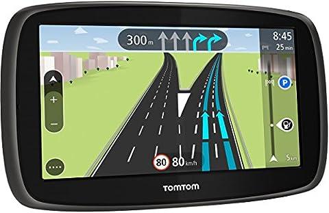 TomTom Start 50 Europe Navigationsgerät (5 Zoll, Lifetime Maps, Fahrspurassistent, Tap & Go, Schnellsuche, Karten von 45 Ländern