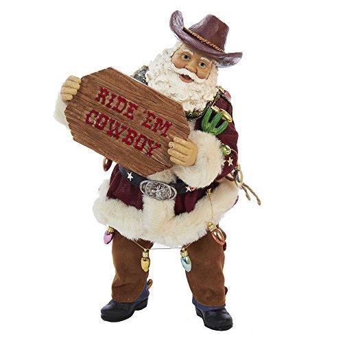 Kurt Adler Fabriche 'Western Santa, 25,4cm