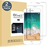 EasyULT Verre Trempé iPhone 8[2-Pièces], iPhone 8 Protection Écran, iPhone 8 Vitre Film Glass Screen Protector(Compatible Fonction 3D Touch)